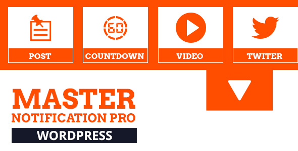 Master Notification Pro - Responsive Notification Bar Plugin for WordPress - CodeCanyon Item for Sale