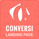 Conversi Professional Conversion Landing Page - ThemeForest Item for Sale