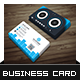 DJ Studio Business Card - GraphicRiver Item for Sale