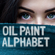 Oil Painting Alphabet - VideoHive Item for Sale