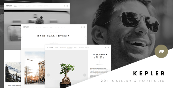 Kepler – Modern Photography & Portfolio WP Theme