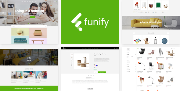 Image of Funify - Minimal Responsive UX Shopify Theme