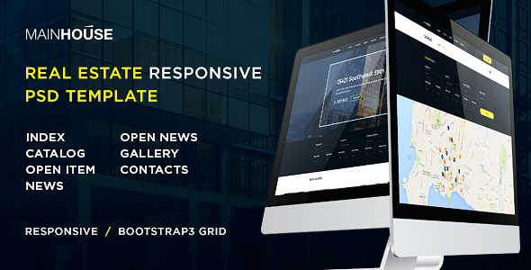 Mat House – 21 responsive Real Estate template