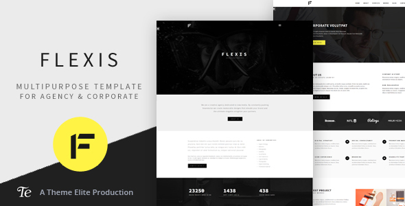 Flexis – Multipurpose Bootstrap Template