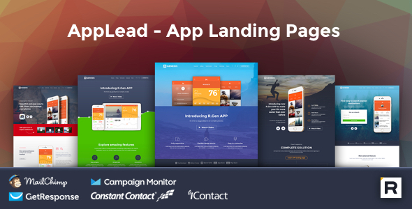 AppLead – App Landing Pages