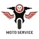 Moto Service Logo - GraphicRiver Item for Sale