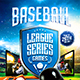 Baseball League Series Flyer vol.2 - GraphicRiver Item for Sale