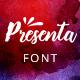 Presenta – Handmade Script Font - GraphicRiver Item for Sale