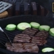 Tasty Delicious Meat Flipped On Hot Grill 4 - VideoHive Item for Sale