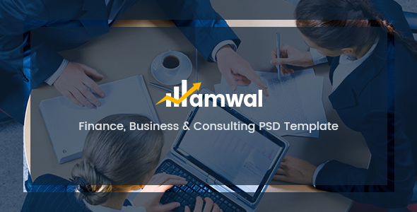 Amwal – Finance, Business & Consulting PSD Template