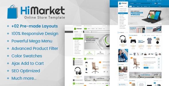 Himarket – Responsive Magento 2 Digital Store Theme