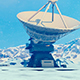 Large Telescopes on The Plain - VideoHive Item for Sale