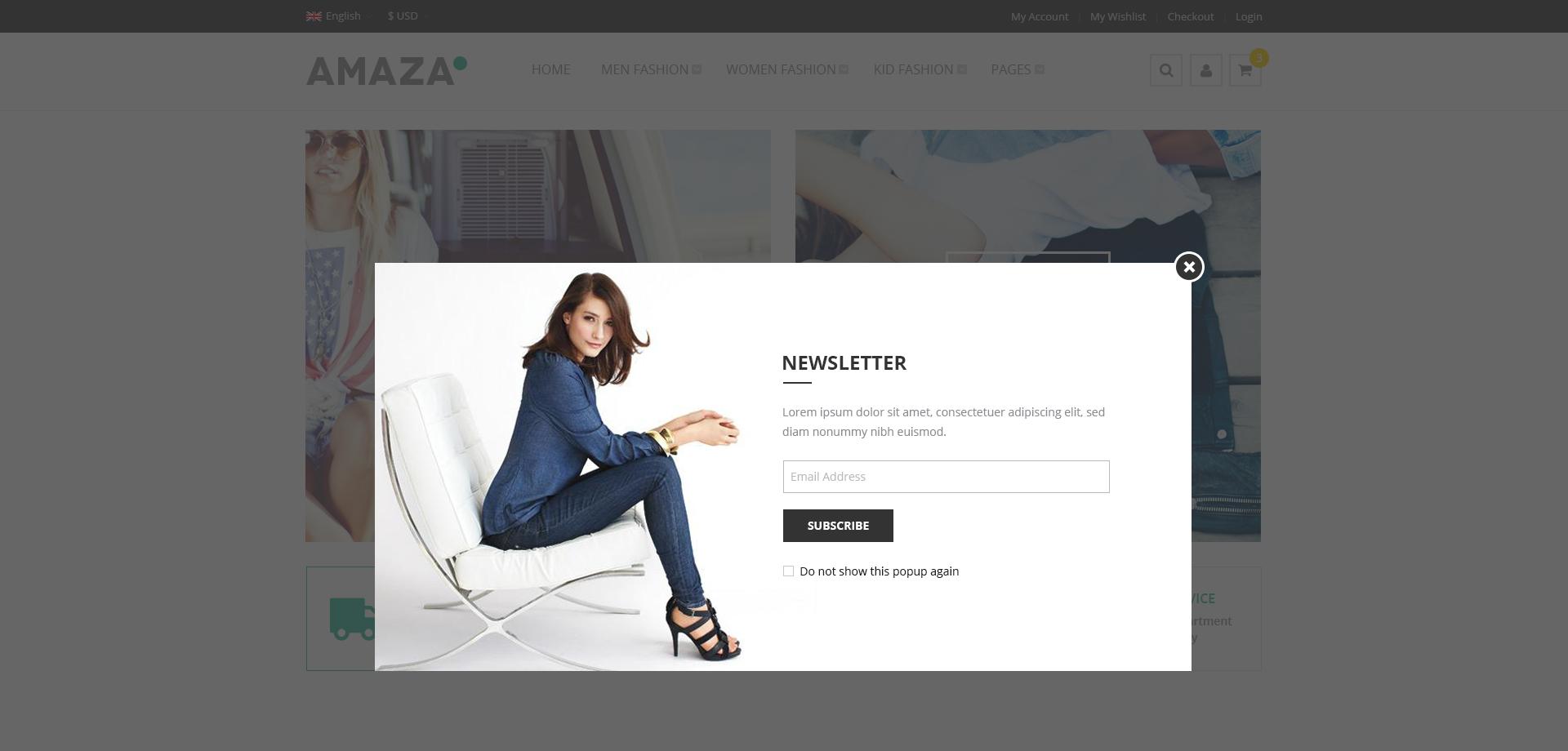 Amaza - Fashion Store HTML Template by NinjaTeam | ThemeForest