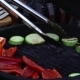 Tasty Delicious Meat Flipped On Hot Grill 6 - VideoHive Item for Sale