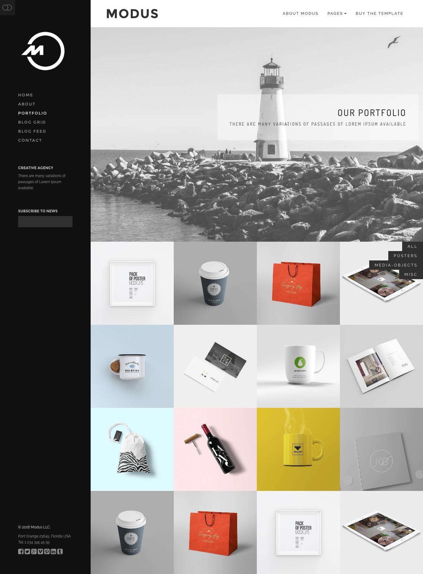Modus - Agency Portfolio HTML by neuethemes | ThemeForest