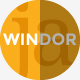 WINDOR Modern and Minimal Template