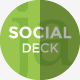 Social Media Deck Presentation Template - GraphicRiver Item for Sale