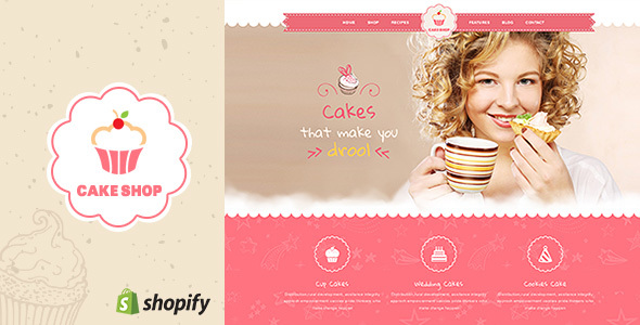 Cake Shop – Shopify Theme for Bakery and Cafe