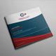 Corporate Bi-fold Square Brochure 07 - GraphicRiver Item for Sale