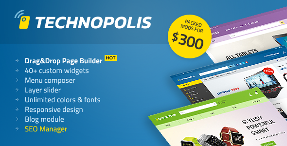 Technopolis – Premium Electronics OpenCart Theme
