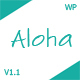 Aloha - A Responsive WordPress Blog Theme - ThemeForest Item for Sale