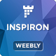 inspiron - Multipurpose Weebly Template - ThemeForest Item for Sale