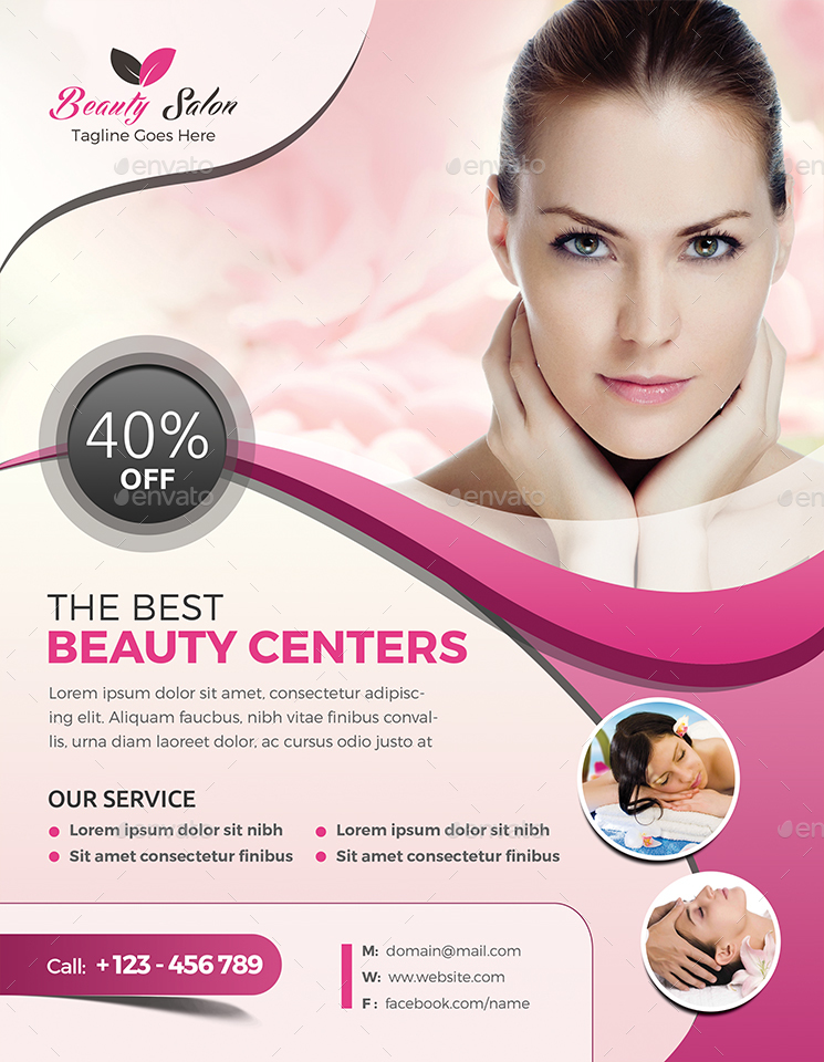 Beauty Care Flyer Templates By Jpixel  Graphicriver