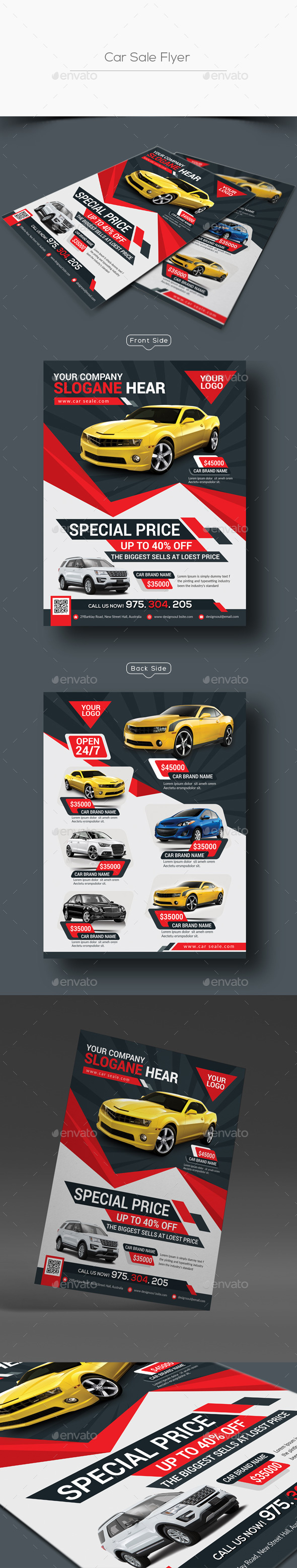 Car Sale Flyer Graphics, Designs & Templates from GraphicRiver