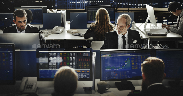 Business Team Investment Entrepreneur Trading Concept - Stock Photo - Images