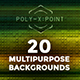 Poly-X:Point Backgrounds Volume 3 - Blurred Lines - GraphicRiver Item for Sale