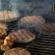 Grilling And Flipping a Burger With Flames 2 - VideoHive Item for Sale