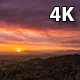 Santa Clarita Sand Fire Day To Night Sunset - VideoHive Item for Sale