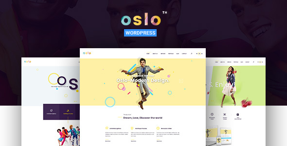 Oslo – Creative Agency Portfolio WordPress Theme