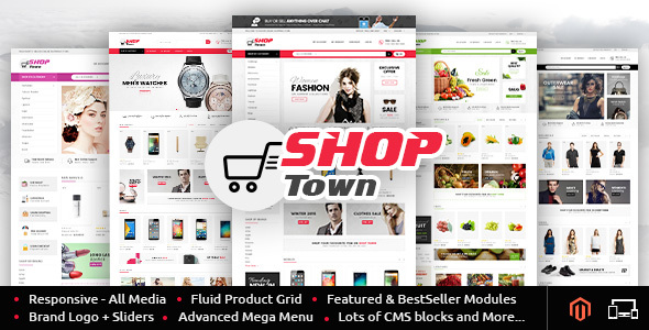 Shop Town - Multipurpose Magento Theme - Shopping Magento