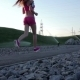 Runner Woman Running In Park Exercising Outdoors.  - VideoHive Item for Sale