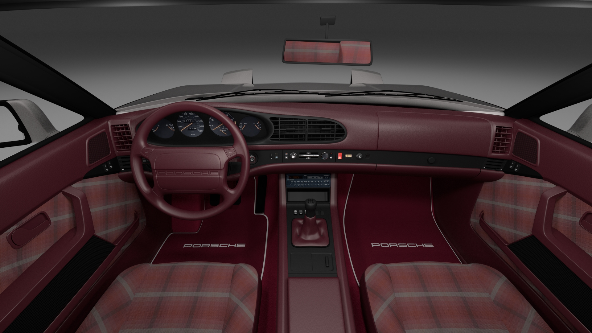 Porsche 944 turbo s with interior rev by dragosburian for Porsche 944 interieur