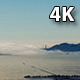 Aerial San Francisco Golden Gate Bridge Fog  - VideoHive Item for Sale
