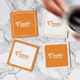 Square Coaster Mock-Up - GraphicRiver Item for Sale