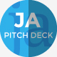 Ja Pitch Deck PowerPoint Presentation  - GraphicRiver Item for Sale