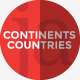 Continents&Countries PowerPoint Presentation  - GraphicRiver Item for Sale