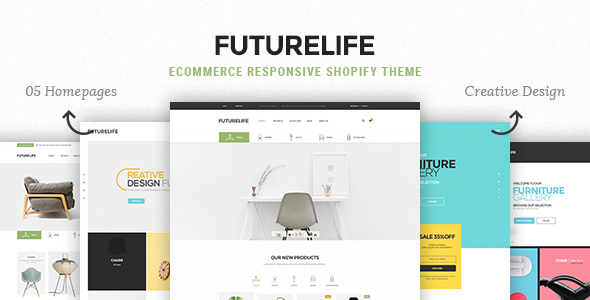 Futurelife – eCommerce Responsive Shopify Theme