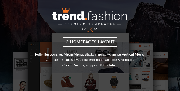 TrendFashion Responsive Shopify theme