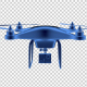 Drone 3D Outline - VideoHive Item for Sale