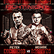 Fight Night v3 Flyer Template - GraphicRiver Item for Sale