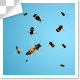 Group Of Flying Insect Bee - VideoHive Item for Sale