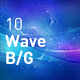 Wave Space Abstract Backgrounds - GraphicRiver Item for Sale