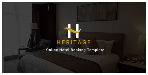 Houston – Online Hotel Booking Template