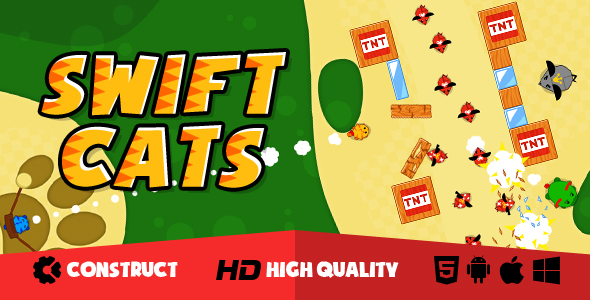 Swift Cats - CodeCanyon Item for Sale