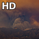 Santa Clarita, California Sand Fire Smoke Close - VideoHive Item for Sale