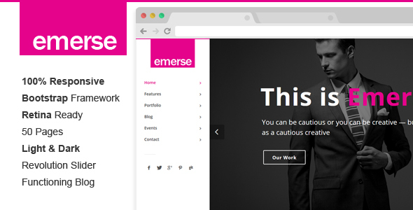Emerse – Creative Template
